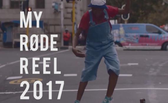«My RØDE Reel 2017» скоро!