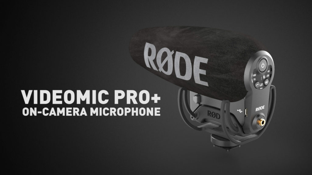VideoMic Pro+