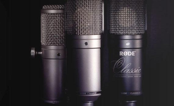 Новые шесть микрофонов