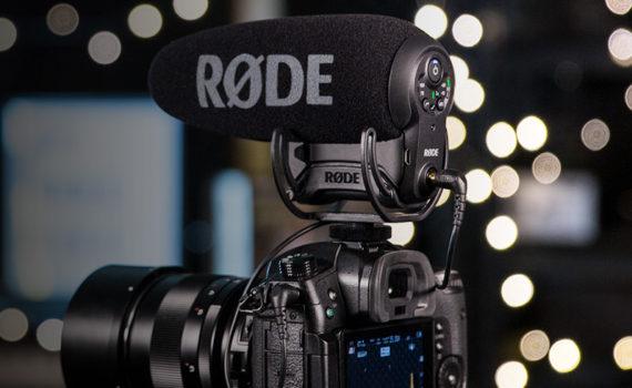 Новый накамерный микрофон VIDEOMIC PRO+