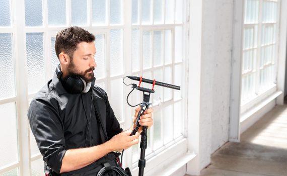Микрофон-пушка NTG5 — новый стандарт микрофонов вещательного качества